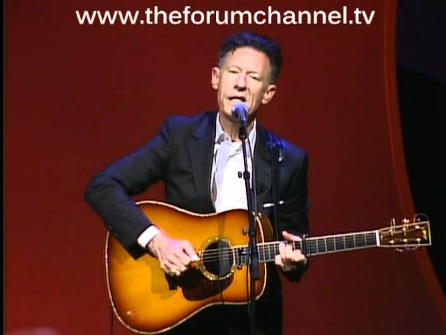 """Lyle Lovett performs """"Step Inside This House"""" at The CT Forum"""