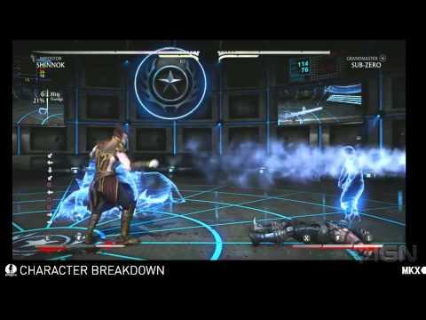 Mortal Kombat X - Shinnok Variations video