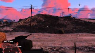 GTA 5 Online Insurgent Tank Player Killing RAMPAGE! Part 1 1080p 60fps Ultra settings
