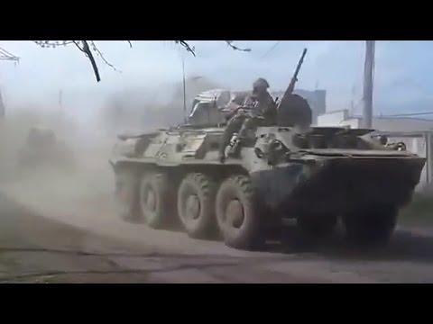 Ukraine War - Ukrainian army proceeds to the counter-terror operation in Sloviansk Ukraine