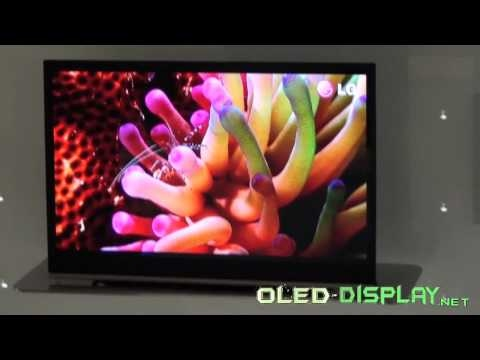 LG Electronics 31-inch 3D OLED Television at IFA-2010
