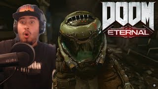 DOOM: Eternal | QuakeCon Gameplay | REACTION!