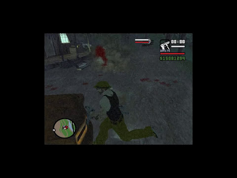 GTA San andreas Cj vs La Niña del Exorcista Loquendo