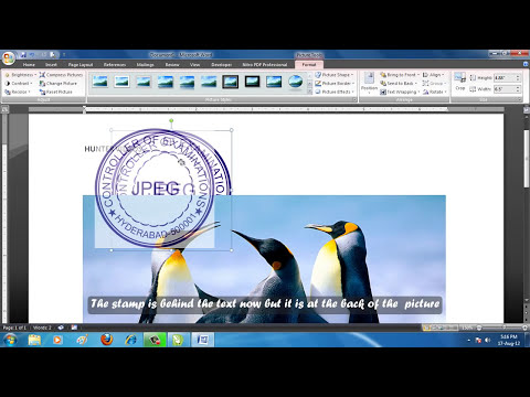 How to Make a Simple Stamp in Corel Draw (English Subs)