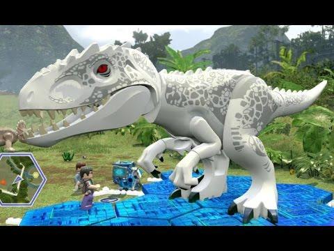 LEGO Jurassic World - Jurassic Park Hub 100% Guide #2 - Dilophosaurus & Triceratops Territory
