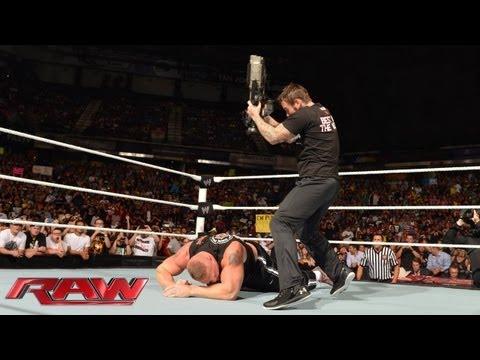 CM Punk vs. Paul Heyman: Raw August 12 2013
