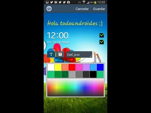 Cambiar pantalla de bloqueo del Samsung Galaxy S4