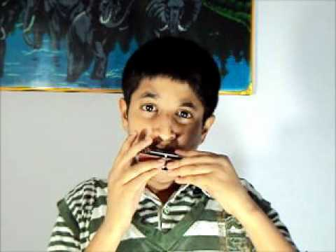 CHAND SIFARISH ( FANAA ) INSTRUMENTAL MUSIC ON HARMONICA BY...