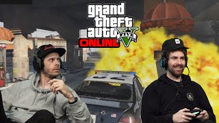 POLICE SHOOTOUTS, JUMPING CARS & COMPLETE DESTRUCTION | 2dudes1game