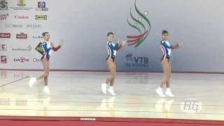 Trio France - Aerobic World Age Group 2012