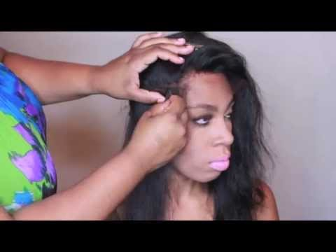 Full Sew-in with Frontal Installation