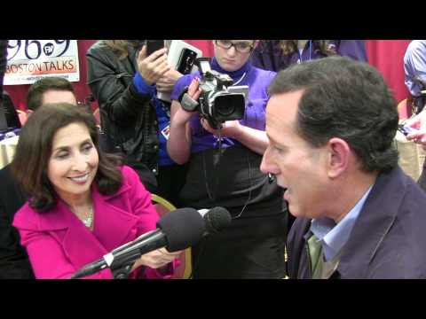 Rick Santorum Roundtable Interview With Ellen Ratner