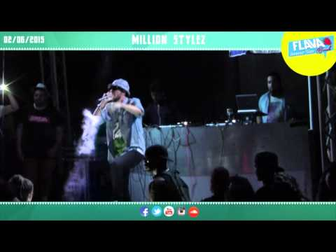 Million Stylez @ Flava Beach - Concerto || Live Performance