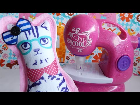 Sew Cool Sewing Machine Glitter Edition PART ONE Toys R Us Exclusive