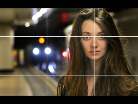 The Rule of Thirds - portrait photography composition tutorial