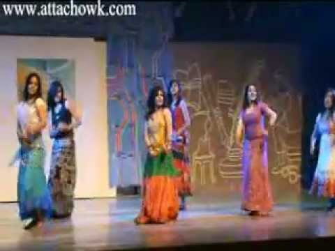 Dance by beautiful girls on  Choli Ke Piche - China Gate Chama...