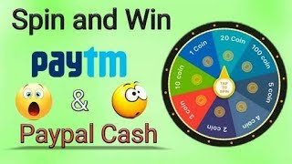 🔴HOW TO EARN MONEY WITHOUT SHARE AND WITHOUT REFER ONLY SPIN THE WHEEL AND WIN THE PAYTM CASE 👍