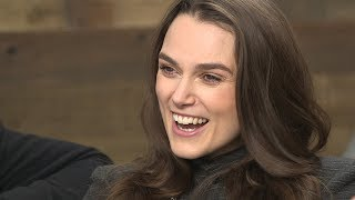 "Keira Knightley discusses her film ""Colette"" at IndieWire's Sundance Studio"