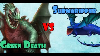 Green Death vs Submaripper