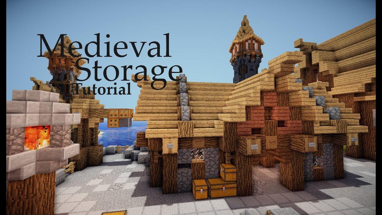 Minecraft Medieval Storage