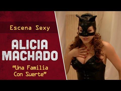 Alicia Machado En una Familia Con Suerte - Escena Sexy video
