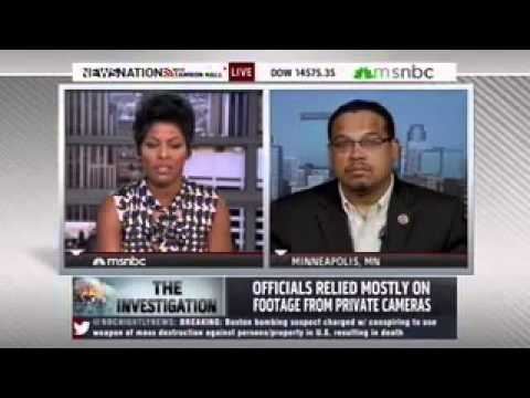 Rep. Keith Ellison Discusses Counterterrorism in the Wake of Boston Marathon Tragedy