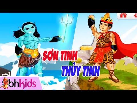 Truyện Tranh Hoạt Hình Việt Nam - SƠN TÌNH THỦY TINH | Kể Chuyện Cổ Tích