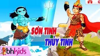 Truyện Tranh Hoạt Hình Việt Nam - SƠN TÌNH THỦY TINH   Kể Chuyện Cổ Tích