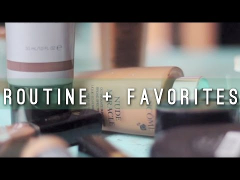 updated on the go foundation routine + Favorites Lancome CoverFX Makeup Forever