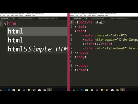 Download  HTML5 and CSS3 Autocomplete Package | HTML and CSS Autocomplete Package for Sublime Text 3 Gratis, download lagu terbaru