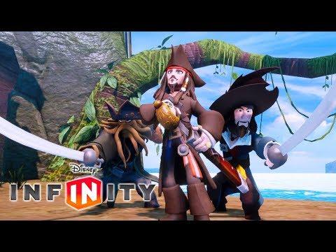 PIRATAS DO CARIBE Jogos de Desenho Animado em Português Dublado para Criançinhas. Disney Infinity