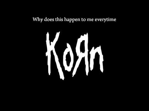 KoRn - Deep Inside Lyrics
