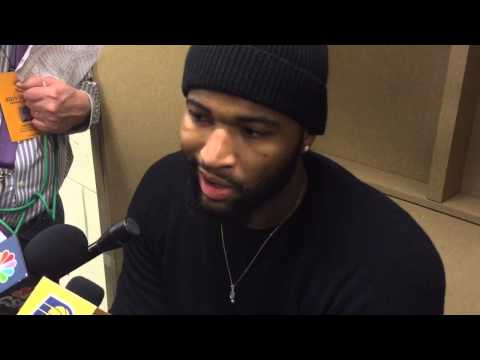 DeMarcus Cousins After Kings Beat Pacers