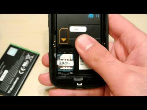 Micro Sim Card Working in a Blackberry