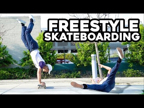 Freestyle Skateboarding Goes Horribly Wrong! (clickbait)