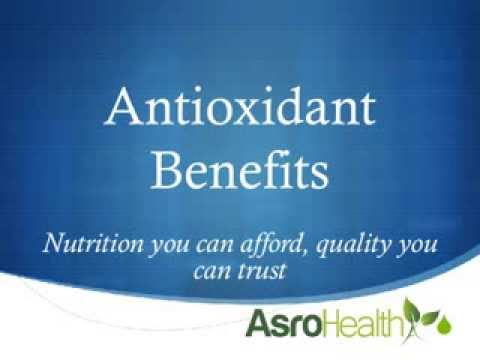 Nu-Health and NCB Antioxidants Benefits - Asro Health