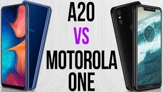 A20 vs Motorola One (Comparativo)