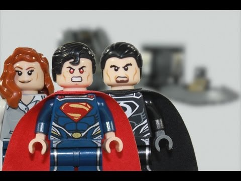 LEGO Man of Steel DC SuperHeroes 76009 Superman: Black Zero Escape 2013 Review