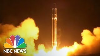 Kim Jong Un Attends North Korea Ballistic Missile Launch   NBC News