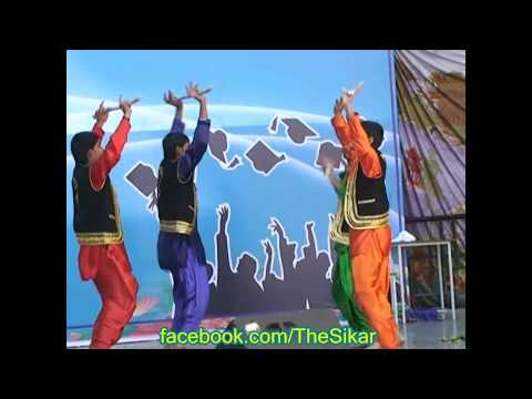 Awesome Punjabi Dance By Bhartiya School, Sikar Students In utsaah - 2013 video