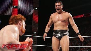 Sheamus vs. Alberto Del Rio: Raw, May 26, 2014