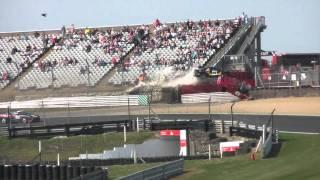 Massive MR2 crash Brands hatch 17/04/2011