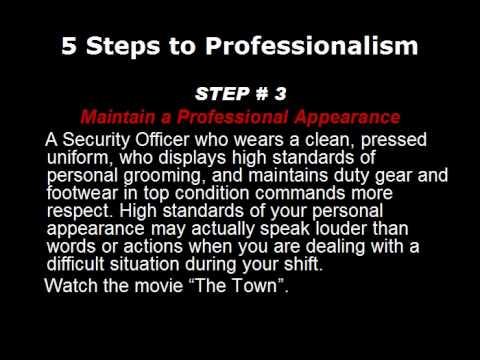 security guard sop template .