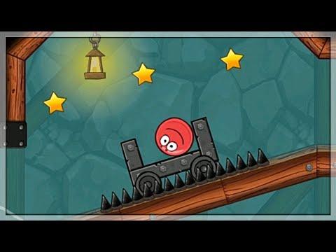 Gry Na Androida: Red Ball 4 Gameplay/Walkthrough I Walka Z Bossem! #5