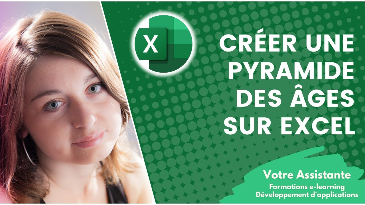 cr er une pyramide des ges sur excel youtube. Black Bedroom Furniture Sets. Home Design Ideas