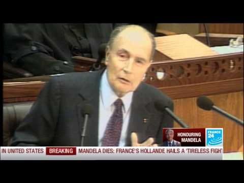 Tribute to Madiba: France's relation with South Africa, reignited by Nelson Mandela