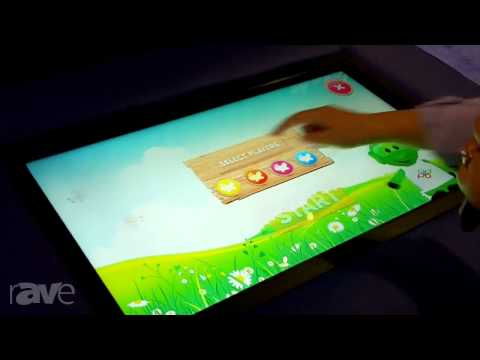 InfoComm 2013: QOMO HiteVision Talks About its Multi-Touch Tables