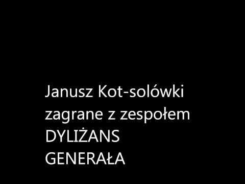 Janusz  Kot- Solówki  Gitarowe Zagrane Z Zespołem DYLIŻANS  GENERAŁA.wmv