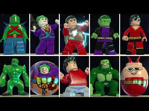 All Character Transformations & Suit Ups in LEGO Batman 3: Beyond Gotham