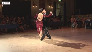 2017 Yanina and Neri dance tango to Una Fija at Cheltenham International Tango Festival